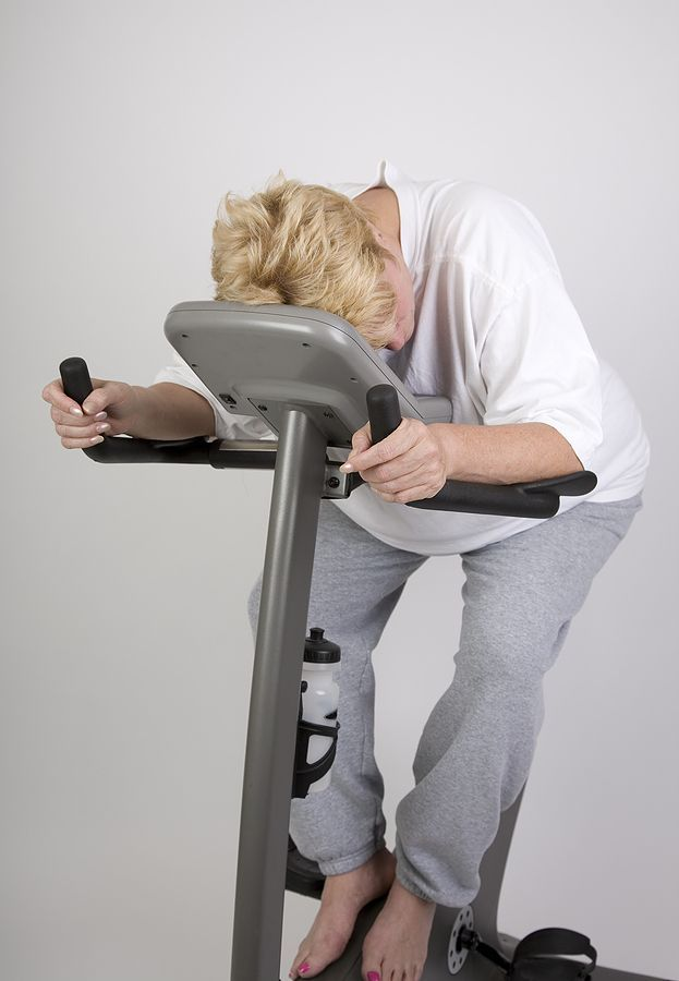 Exercise can feel overwhelming