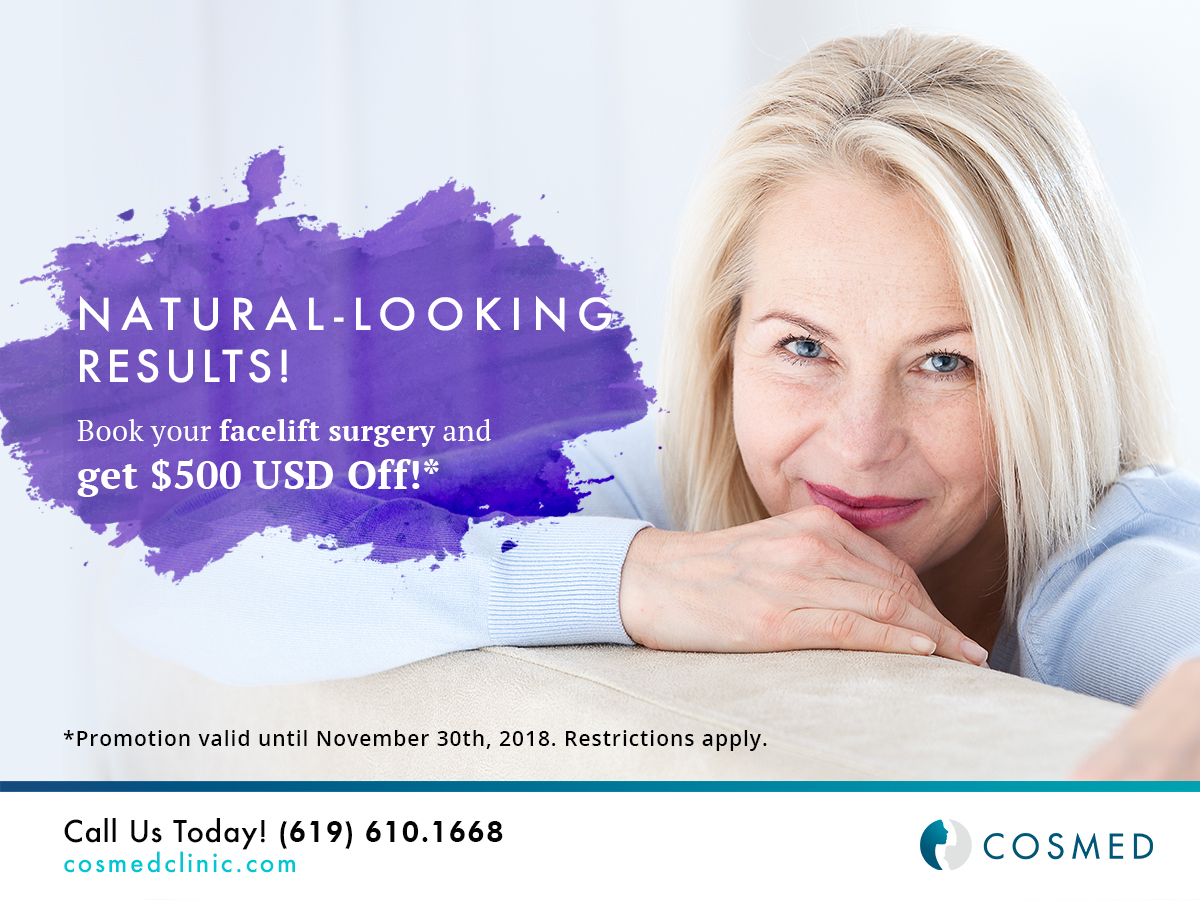 facelift surgery promotion