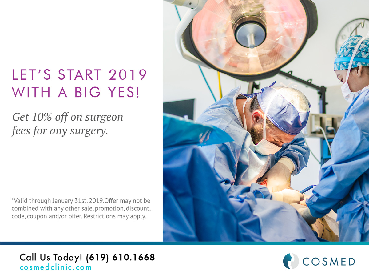 January offer plastic surgery